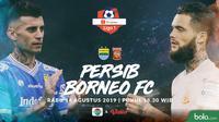 Shopee Liga 1 - Persib Bandung Vs Borneo FC Head to Head (Bola.com/Adreanus Titus)
