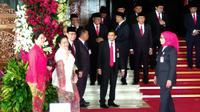Sudah 3 kali sidang tahunan MPR dan pembacaan pidato kenegaraan Presiden Jokowi sejak 2015, SBY tidak hadir. (Liputan6.com/Doni)