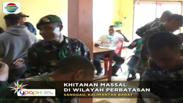Yayasan Pundi Amal Peduli Kasih (YPAPK) Indosiar-SCTV, bekerjasama dengan Komando Daerah Militer Sanggau Kalimantan Barat, menggelar bakti sosial dan khitanan massal di wilayah perbatasan, Kabupaten Sanggau.