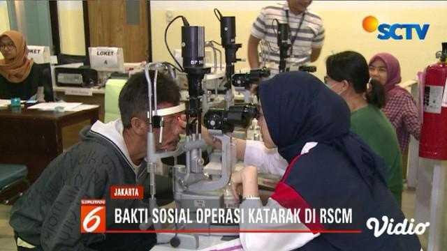 YPP SCTV-Indosiar menggelar operasi katarak gratis di RSCM Jakarta atas kerja sama Persatuan Dokter Spesialis Mata Indonesia Jaya, RSCM Kirana dan Alpha Omega.