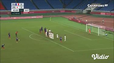 Timnas Jepang U-23 bantai Perancis di Stadion Nissan Hari Rabu (28/7). Laga terakhir di grup A ini berakhir 4-0 untuk kemenangan tuan rumah.