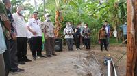 Kementan bantu irigasi perpompaan di Ketapang Lampung Selatan (istimewa)