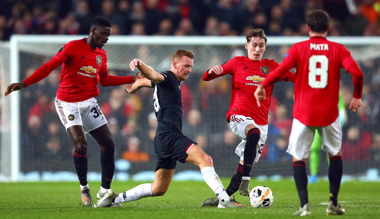 FOTO Manchester United Cukur AZ Alkmaar 4 0 Di Old Trafford