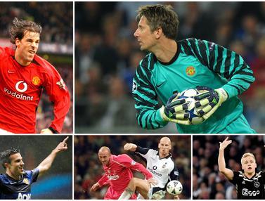 Donny van de Beek dan 6 Pemain Belanda yang Pernah Berseragam Manchester United