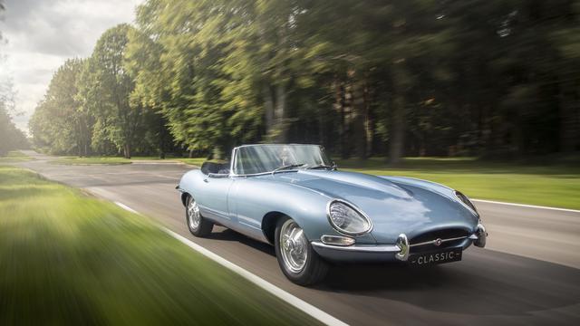 Jaguar E Type >> Jaguar E Type Zero Mobil Klasik Bermesin Listrik Otomotif