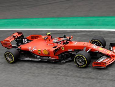 Charles Leclerc Tercepat di FP1 F1 GP Italia 2019