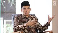 Gubernur Nusa Tenggara Barat (NTB) Tuan Guru Bajang (TGB) Zainul Mazdi. (Liputan6.com/Herman Zakharia)