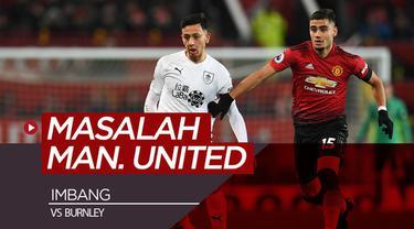 Berita video beberapa pemain yang bermasalah saat Manchester United imbang 2-2 kontra Burnley dalam lanjutan Premier League 2018-2019, Selasa (29/1/2019).