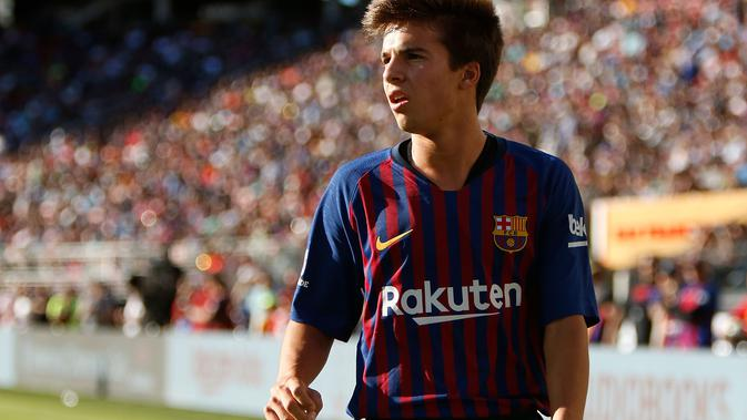 Riqui Puig (Lachlan Cunningham / GETTY IMAGES NORTH AMERICA / AFP)