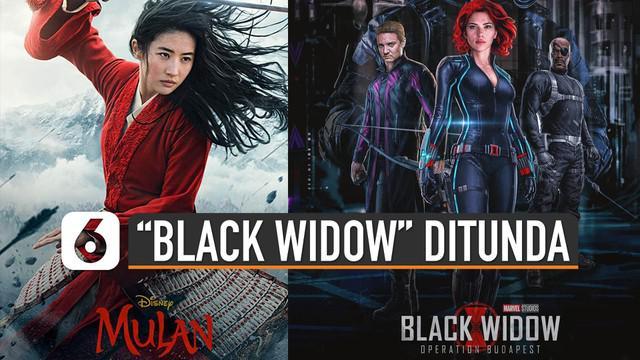 """Selain penundaan event-event yang ada di dunia. Wabah virus Corona juga menunda beberapa penayangan film yang akan rilis. Salah satunya """"Black Widow""""."""