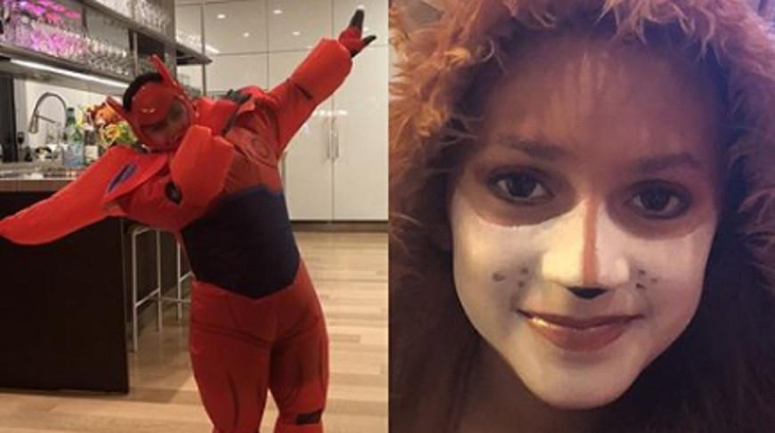 Anak kembar Jennifer Lopez, Max dan Emme, bersiap merayakan Halloween 2017 (Instagram @jenniferlopez)