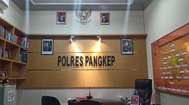 Ilustrasi Polres Pangkep (Liputan6.com/Fauzan)