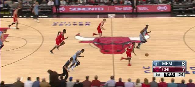 Berita video game recap NBA 2017-2018 antara Chicago Bulls melawan Memphis Grizzlies dengan skor 119-110.