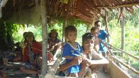 Bantuan bagi warga korban bencana kelaparan di Pulau Seram memerlukan waktu minimal sehari semalam untuk didistribusikan. (Dok. BPBD Kabupaten Maluku Tengah/Abdul Karim)