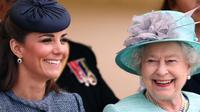 Kate Middleton dan Ratu Elizabeth (dok. instagram @theroyalfamily/https://www.instagram.com/p/B7GHlR2nvFo//Tri Ayu Lutfiani)