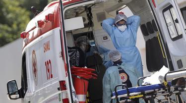 Angka Kematian Covid-19 di Brasil Sentuh Rekor