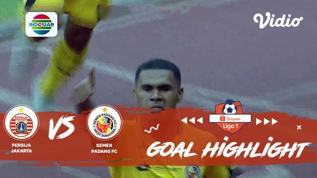 Berita video gol-gol yang tercipta saat Semen Padang melakukan comeback dramatis menghadapi Persija Jakarta di Shopee Liga 1 2019, Rabu (16/10/2019).