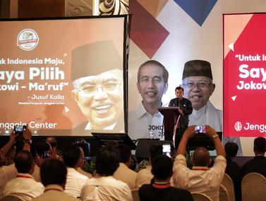 JK Hadiri Rapat Konsolidasi Dukungan untuk Jokowi-Ma'ruf