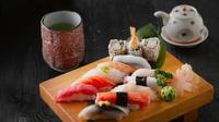 ilustrasi makanan Jepang  (sumber: Pexel)