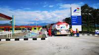 SPBU Pertamina beroperasi penuh di Lombok (Foto: Dok Pertamina)