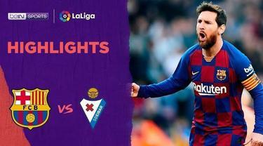 Beriita Video Highlights La Liga, Barcelona vs Eibar 5-0