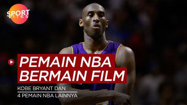 Berita video sportbites kali ini membahas tentang pemain NBA yang membintangin film Hollywood, salah satunya ada Kobe Bryant.