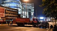 Suasana mal Terminal 21 di Thailand saat penembakan brutal terjadi. (AFP)