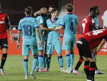 Barcelona Pesta Gol di Markas Mallorca