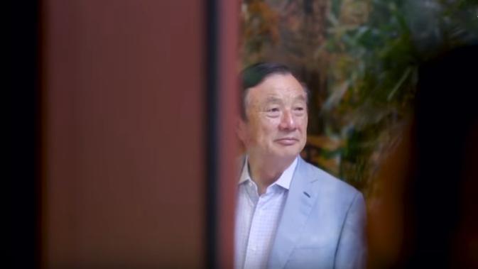 Pemimpin Huawei: Ren Zhengfei. Dok: Time