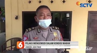 Sejumlah warga di Pasar Cukir Kecamatan Diwek, Jombang, Jawa Timur, langsung mengerubungi sebuah minibus yang nekat melarikan diri usai menabrak dua pengendara motor. Usai menabrak, pelaku mengebut sehingga membuat warga kesal dan merusak mobil.