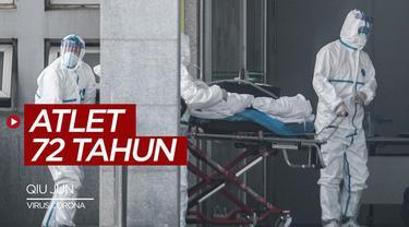 Berita video atlet binaragawan asal China, Qiu Jun dikabarkan meninggal dunia akibat virus corona.