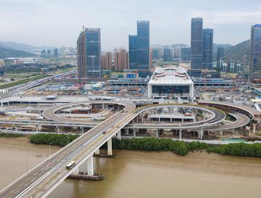 Pelabuhan Baru yang Hubungkan Makau dan China Daratan Resmi Beroperasi