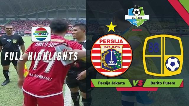 Berita video highlights Gojek Liga 1 2018 bersama Bukalapak antara Persija Jakarta melawan Barito Putera yang berakhir dengan skor 3-0, Selasa (30/10/2018).