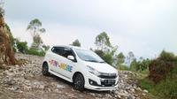 Tes Drive New Daihatsu Ayla ke Ciwidey, Bandung. (Herdi Muhardi)
