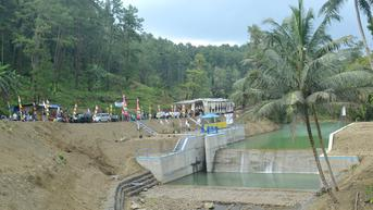 Embung Pangkalan Beroperasi, Ribuan Jiwa di Cilacap Bebas Krisis Air