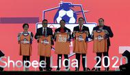 Launching Shopee Liga 1 2020 di Hotel Fairmont, Jakarta, Senin (24/2/2020). Kompetisi Shopee Liga 1 2020 akan dimulai pada 29 Februari dan diikuti 18 Klub. (Bola.com/M Iqbal Ichsan)