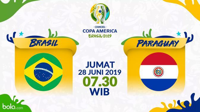 Prediksi Copa America 2019 Brasil Vs Paraguay: Peluang Besar Tembus Semifinal – Dunia