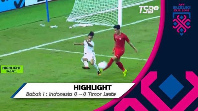 Berita video highlights pertandingan timnas Indonesia menang atas Timor Leste dengan skor akhir 3-1 pada di Piala AFF 2018, Selasa (13/11/2018).