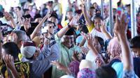 Cagub Dodi Reza Alex Noerdin mendapat dukungan dari warga Suku Sunda di Kabupaten Mura Sumsel (dok.Timses Dodi-Giri / Nefri Inge)