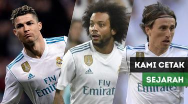 Berita Video Reaksi 3 pemain Real Madrid, CR7, Modric dan Marcelo usai Real Madrid juara Liga Champions