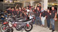 Merayakan ulang tahun ke 3 komunitas Riders King Wartend Fatmawati (RKWF) memiliki cara unik