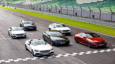 Mercy Luncurkan 6 Unit AMG 43 Untuk Rayakan 50 Tahun Mercedes-AMG