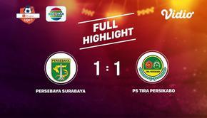 Laga lanjutan Shopee Liga 1, Persebaya Surabaya VS PS Tira Persikabo berakhir  1-1 #shopeeliga1 #Persebaya Surabaya #PS Tira Persi...