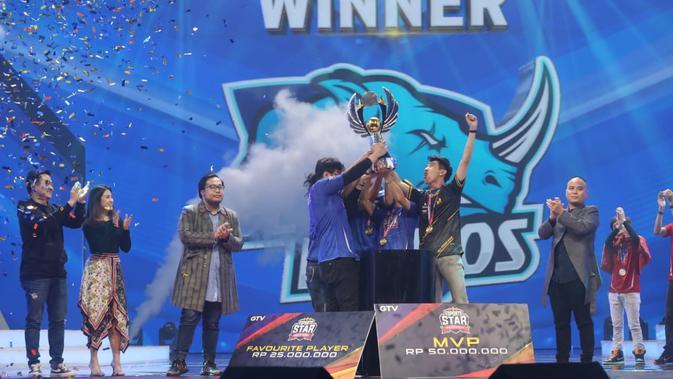 Blue Rhinos Juara, Jbun Sabet MVP pada Grand Final Esports