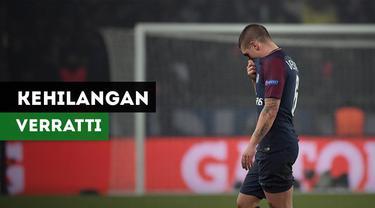 Berita video Paris Saint-Germain terancam kehilangan Marco Verratti akibat cedera engkel. Verratti diragukan akan tampil menghadapi Manchester United.