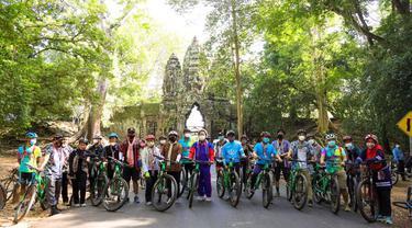 Acara Batik-Kroma Fun Bike 2021.
