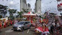 Xpander Tons of Real Happiness tiba di Tangerang (Arief/Liputan6.com)