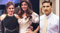 Raveena Tandon, Shilpa Shetty dan Akshay Kumar
