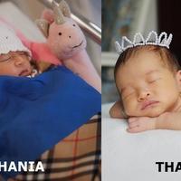 4 Potret Kemiripan Thalia dan Thania Putri Ruben Onsu Saat Masih Bayi (sumber: Instagram.com/thaliaputrionsu & Instagram.com/rubenonsu)