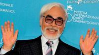 Hayao Miyazaki, salah satu pendiri Studio Ghibli.